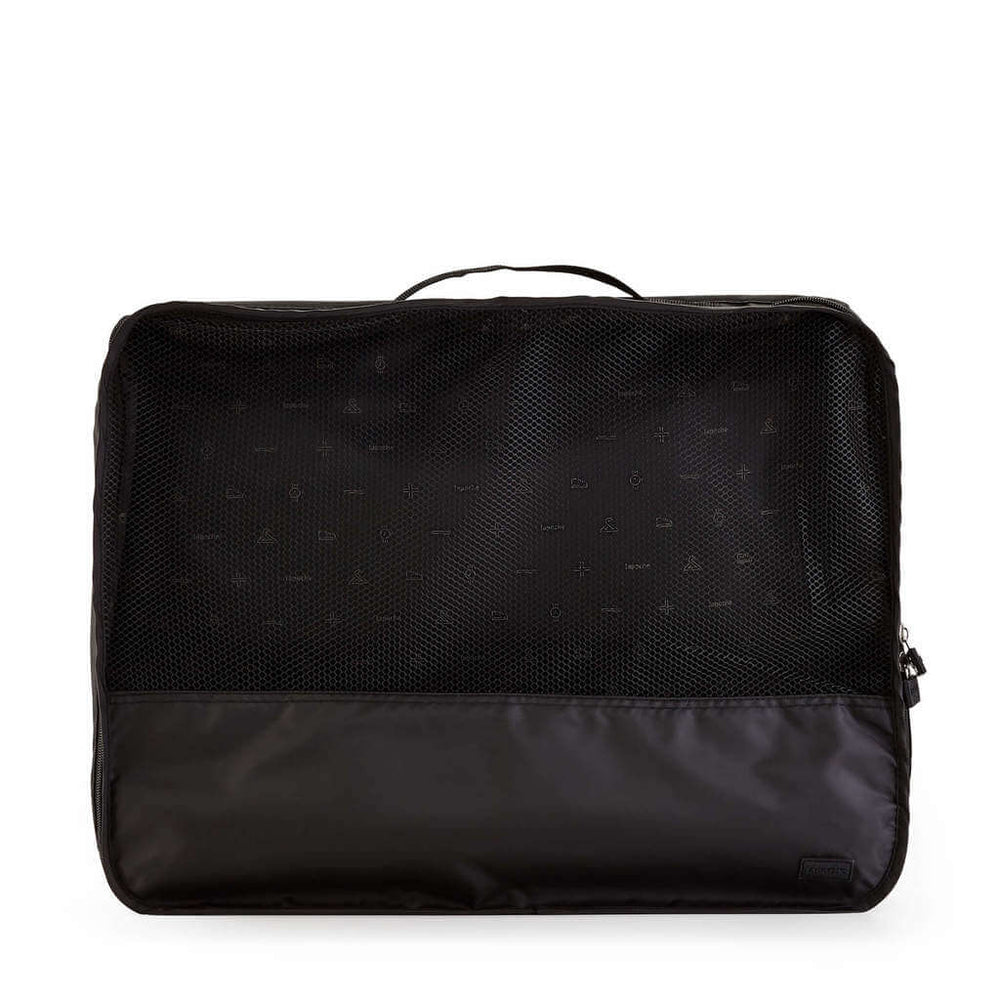 travel bag organisers for clothes black large