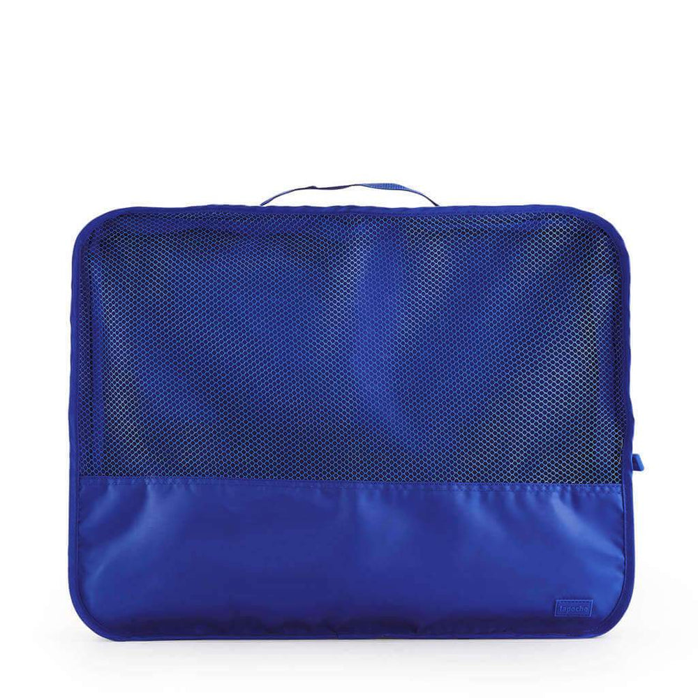 travel bag organisers for clothes blue large