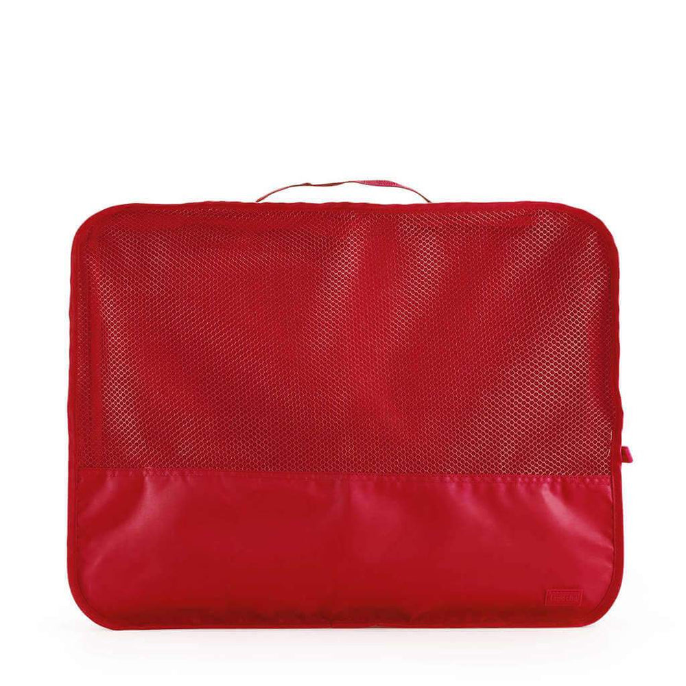 luggage organiser for travel large red