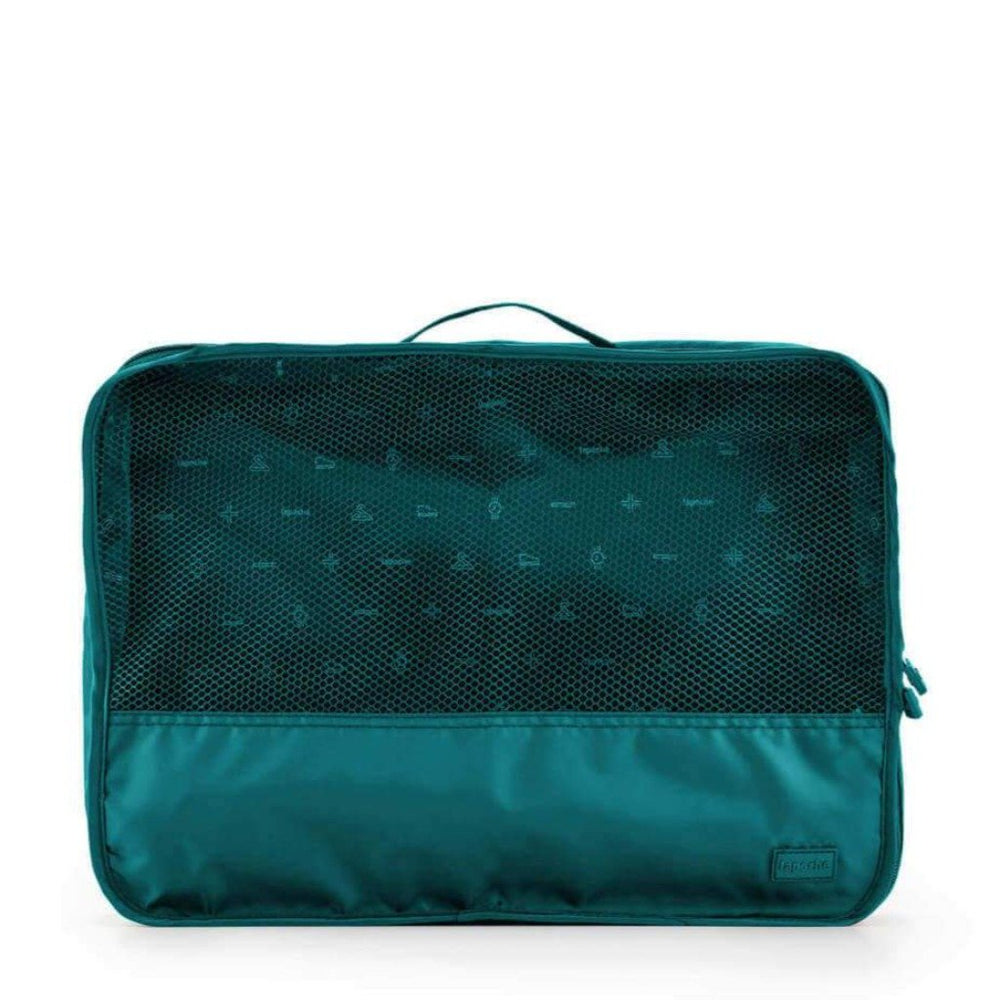 luggage organiser for travel large teal