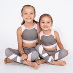 Matching Mum and Mini Activewear, Gym Secrets, Stone and Blush - Upper Notch Club