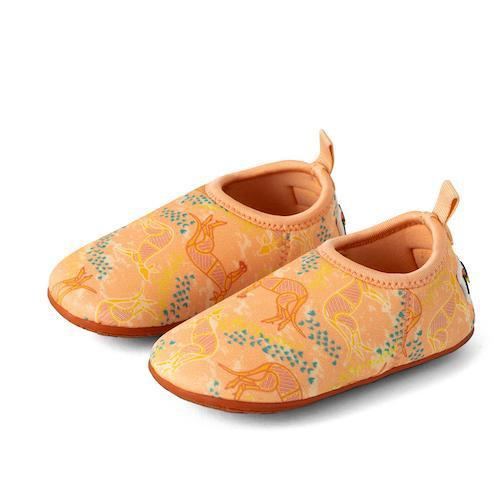 Beach Shoes for Toddlers and Kids, Minnow Designs, Kakadu Kangaroo