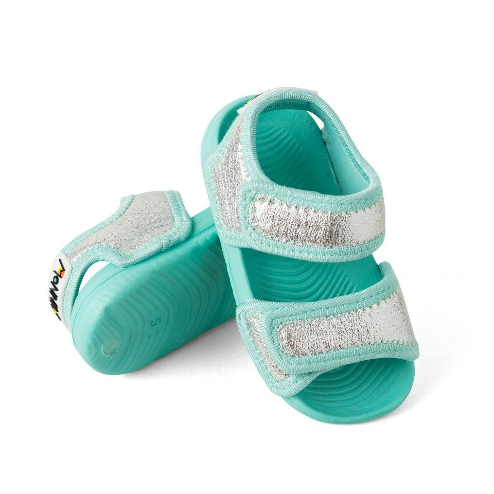 Water Play Sandals for Kids, Minnow Design, Avoca