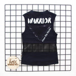 Black Muscle Top, Wild Warriors