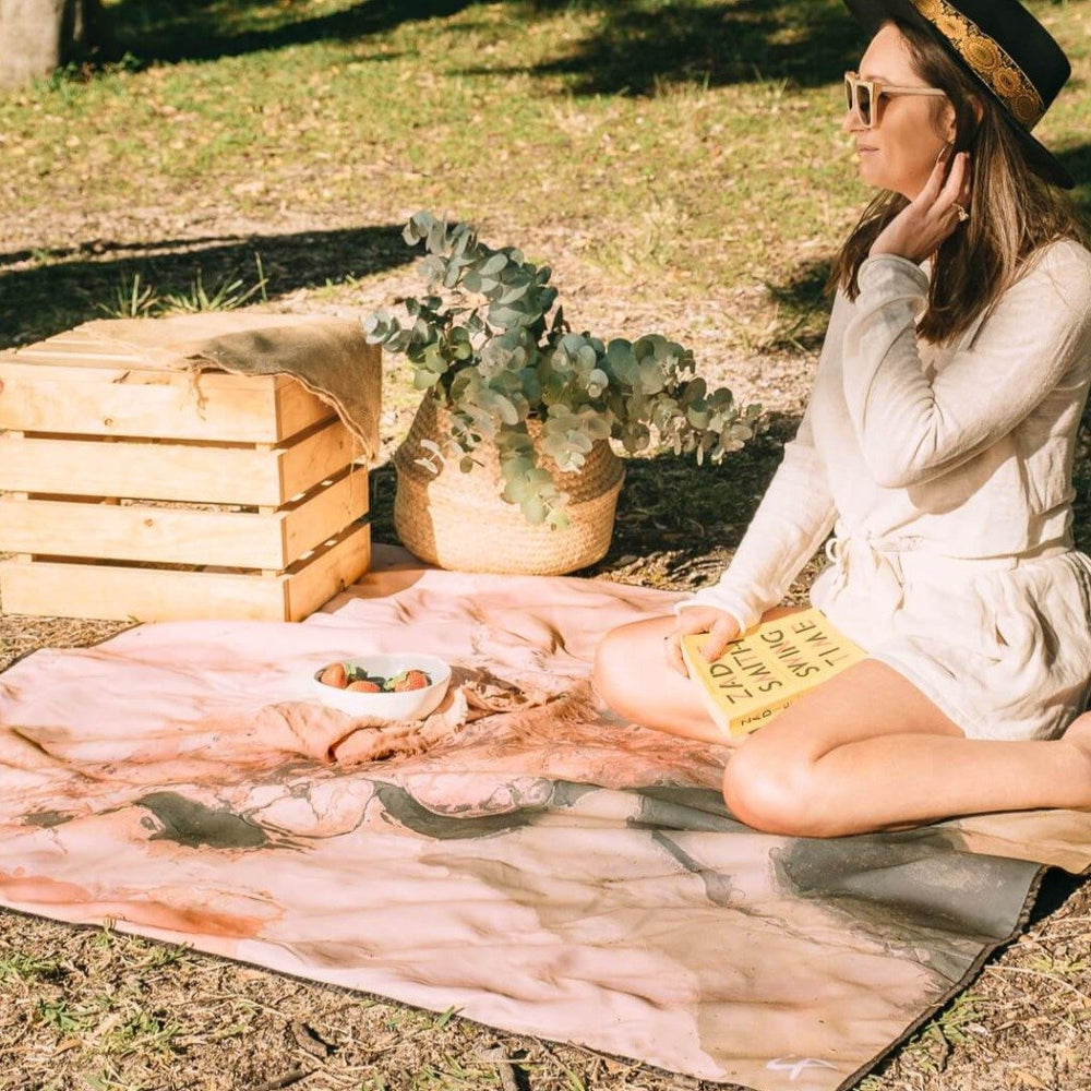 Waterproof Picnic Blanket, In Her Element, Earth