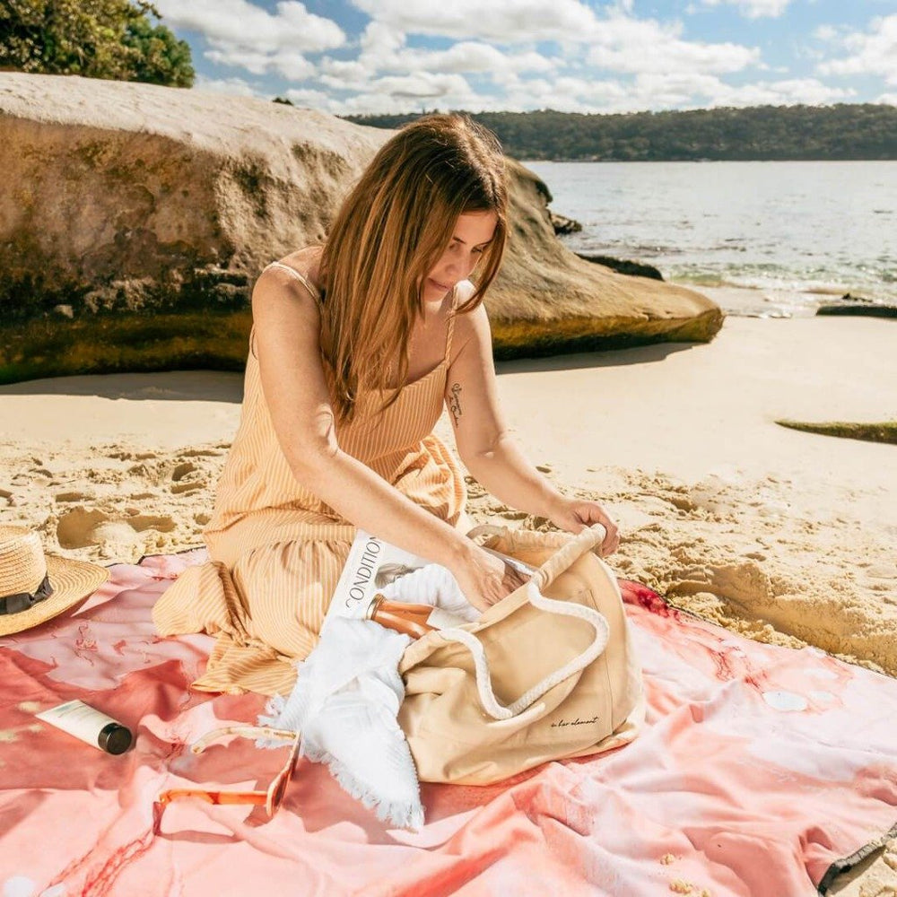 Waterproof Picnic Blanket, In Her Element, Fire - Upper Notch Club
