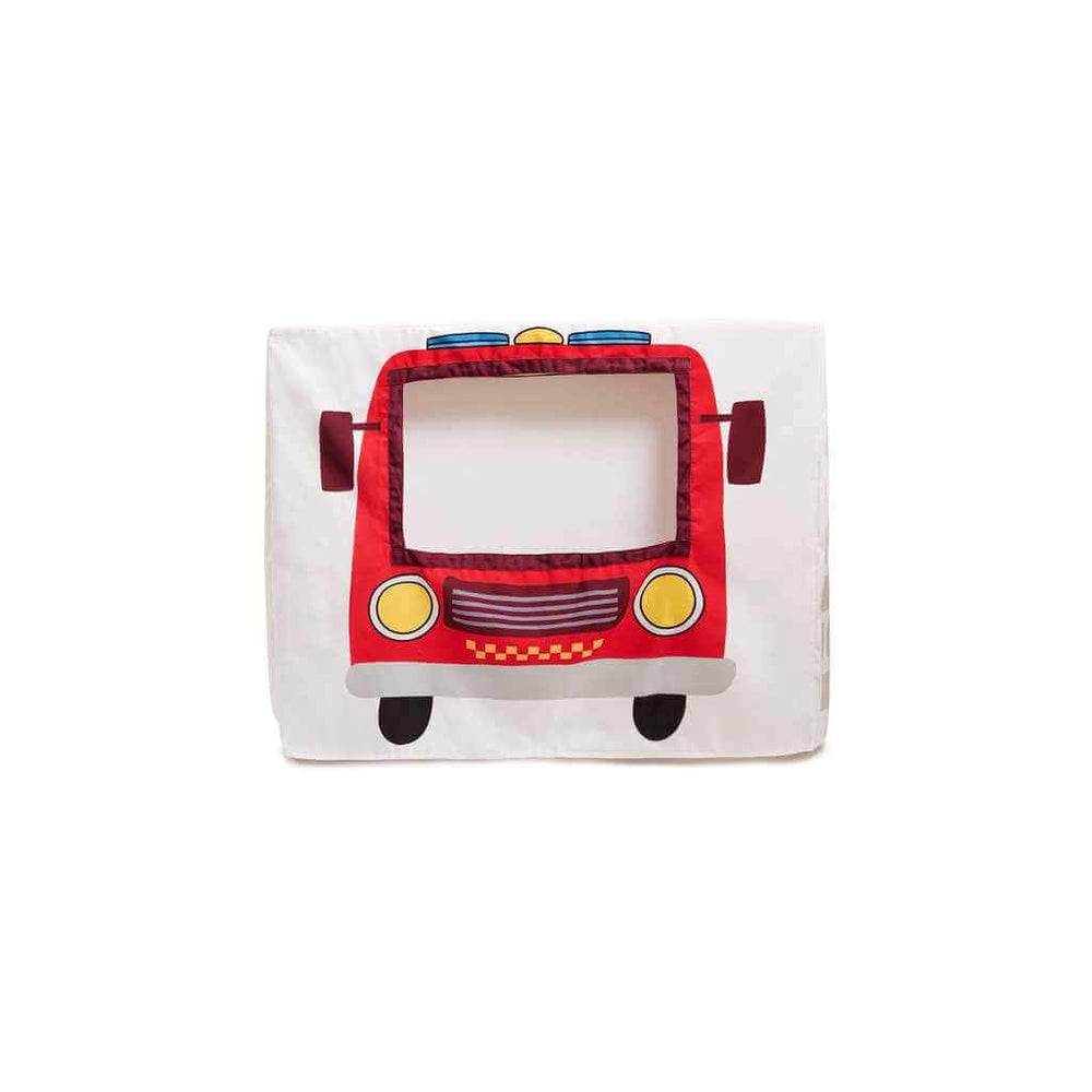 cubby house for boys fire truck
