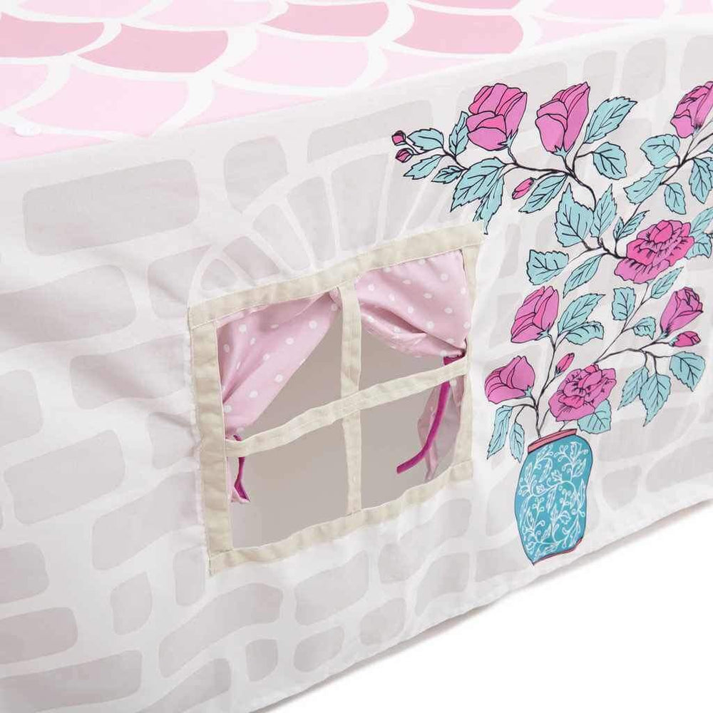 tablecloth play tent for girls