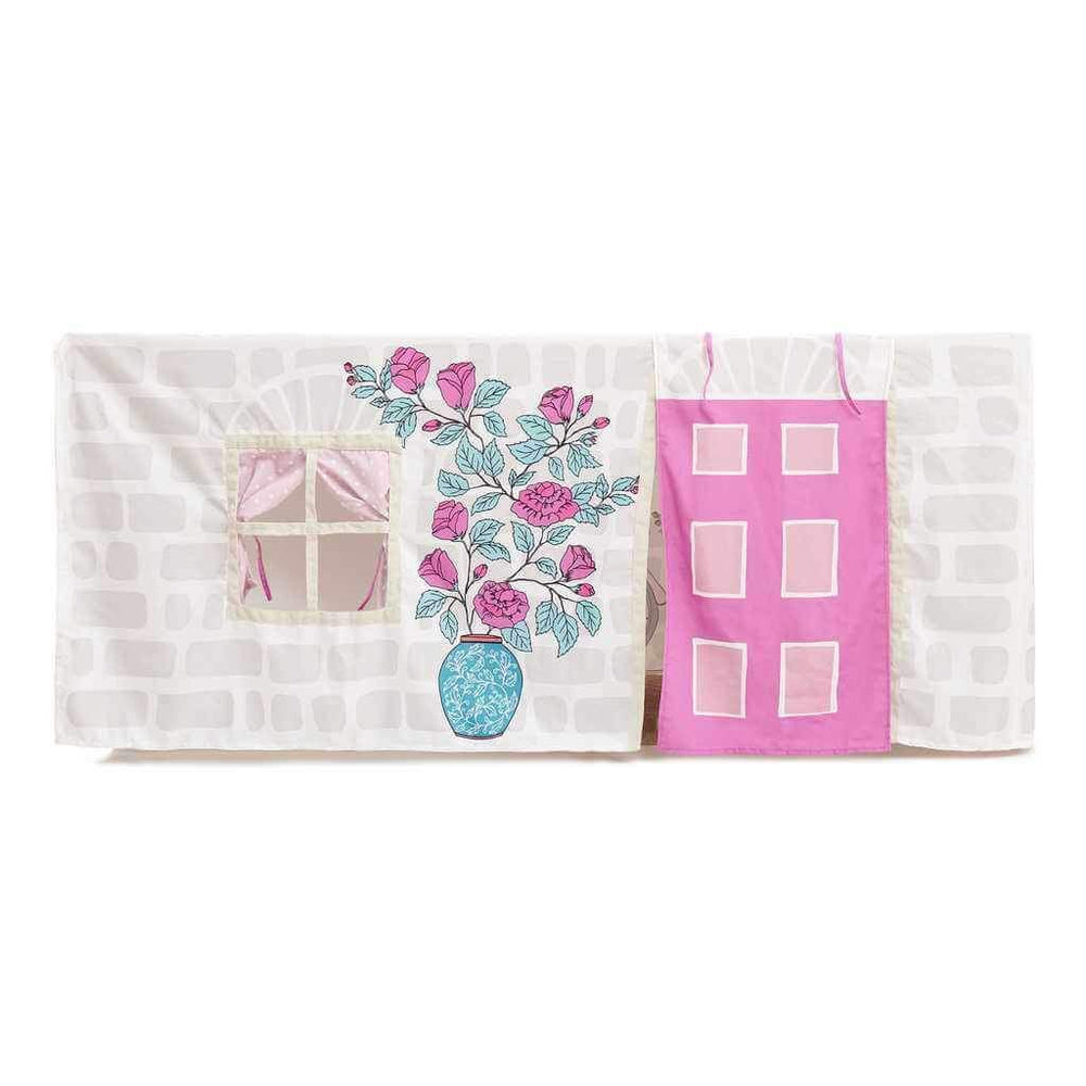 tablecloth cubby house for girls