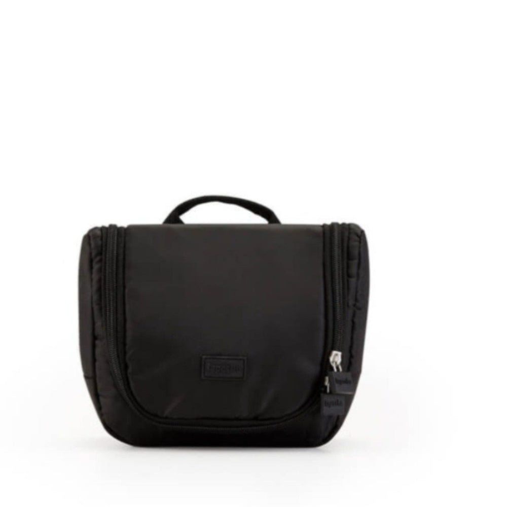 toiletry bag small black