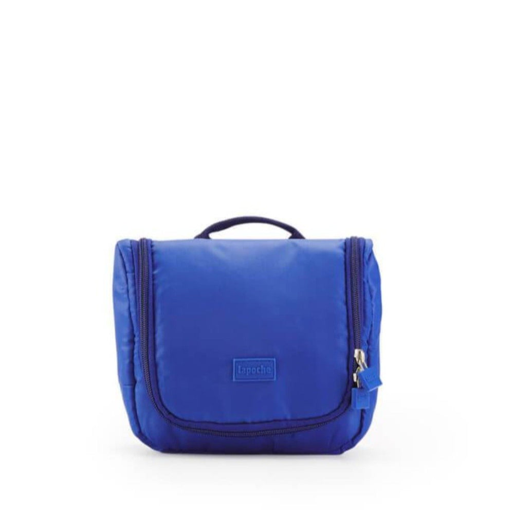 toiletry bag small blue