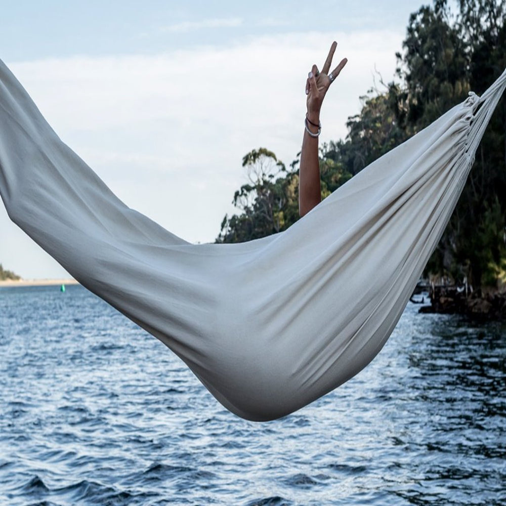 Outdoor Hammock, Swagger,  White - Upper Notch Club
