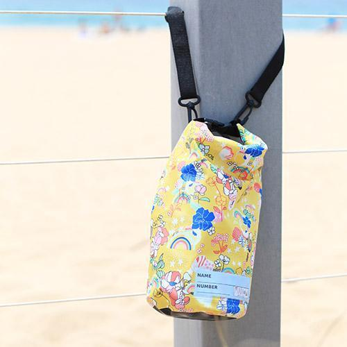 dry bag for kids with shoulder strap minnow design floral