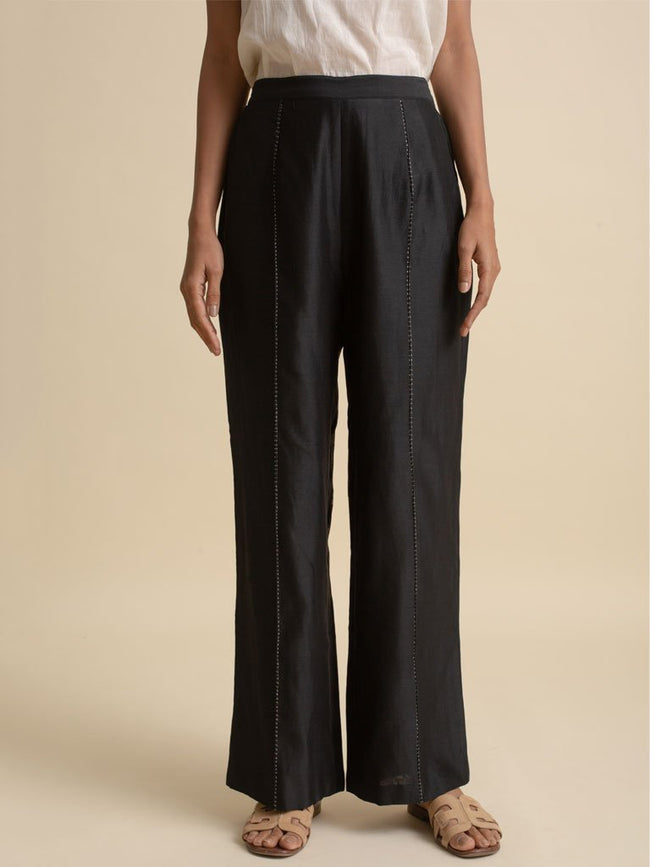 Wide Leg Pants - PANTS - IKKIVI - Shop Sustainable & Ethical Fashion