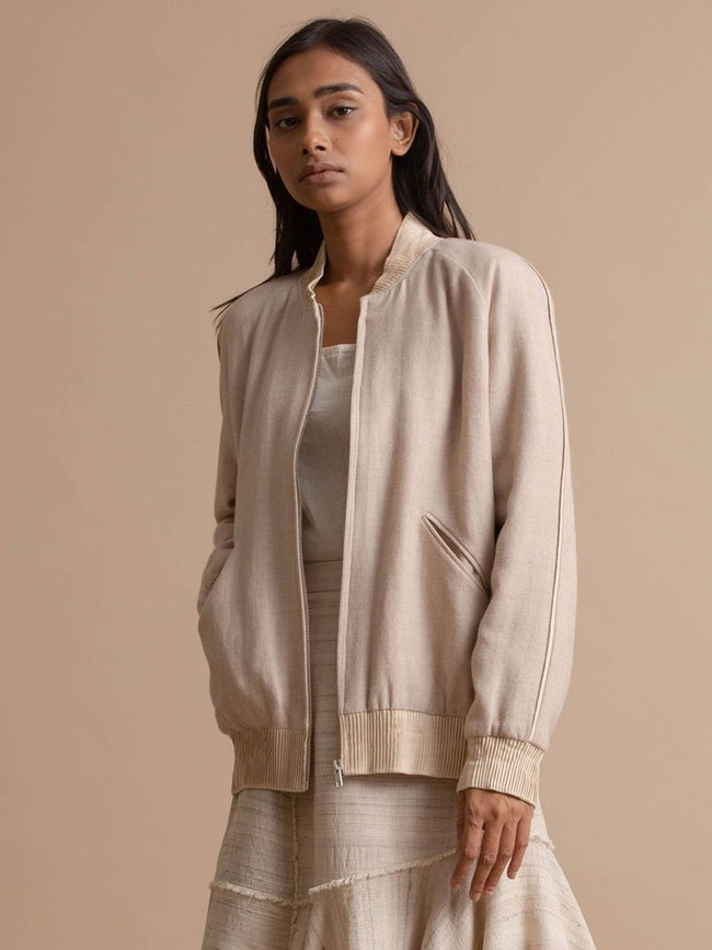 Bomber Jacket - JACKETS - IKKIVI - Shop Sustainable & Ethical Fashion