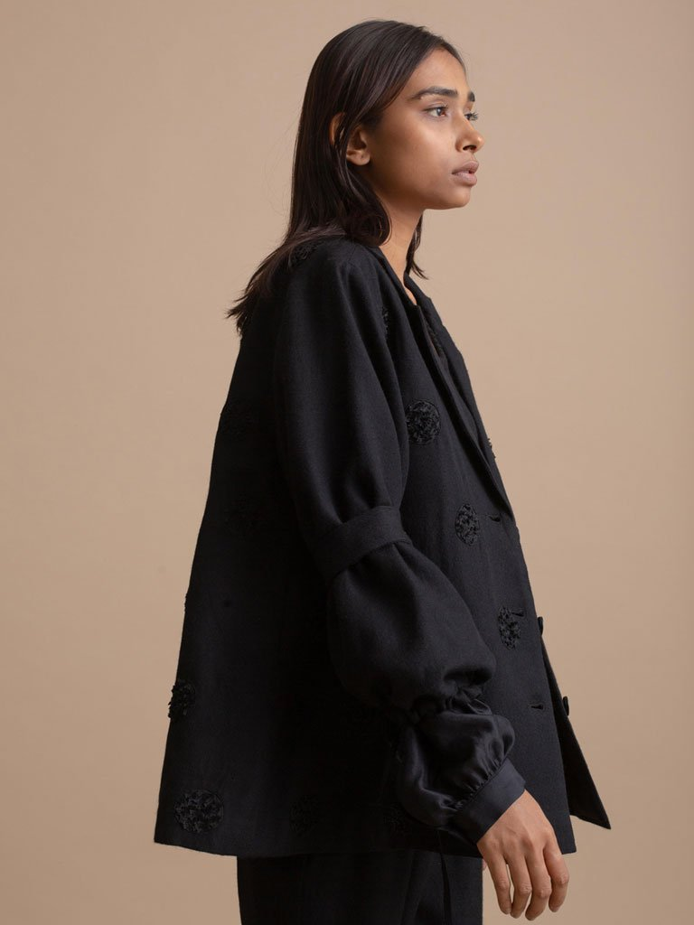Dual Sleeve Coat - JACKETS - IKKIVI - Shop Sustainable & Ethical Fashion