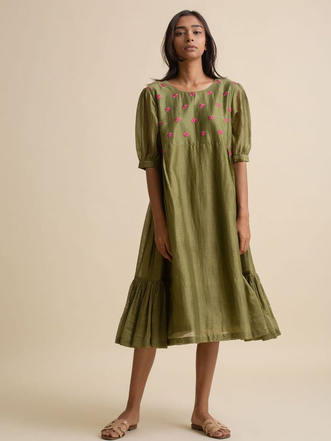 Pleat To Gather Dress - DRESS - IKKIVI - Shop Sustainable & Ethical Fashion