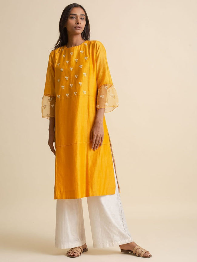 Pintuck Kurta - DRESS/KURTA - IKKIVI - Shop Sustainable & Ethical Fashion