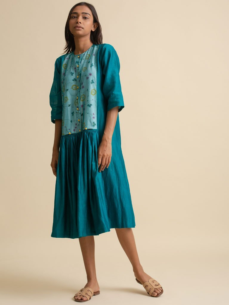 Front Open Dress - DRESS - IKKIVI - Shop Sustainable & Ethical Fashion