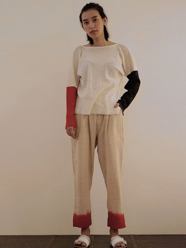 High Polarity Cream - TOPS - IKKIVI - Shop Sustainable & Ethical Fashion