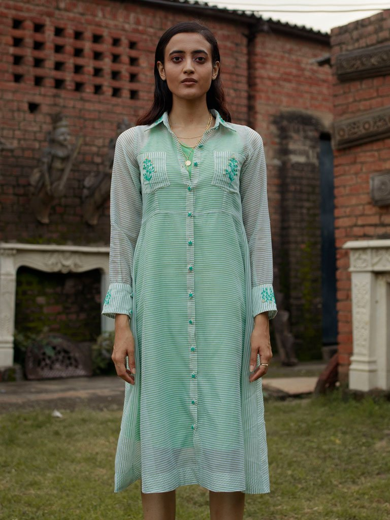 Emerald Tale - DRESSES - IKKIVI - Shop Sustainable & Ethical Fashion