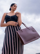 Vanita Brown - BAGS - IKKIVI - Shop Sustainable & Ethical Fashion