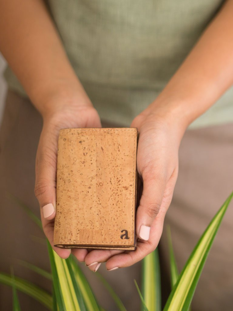 Reed Natural Business Card Holder - BAGS - IKKIVI - Shop Sustainable & Ethical Fashion