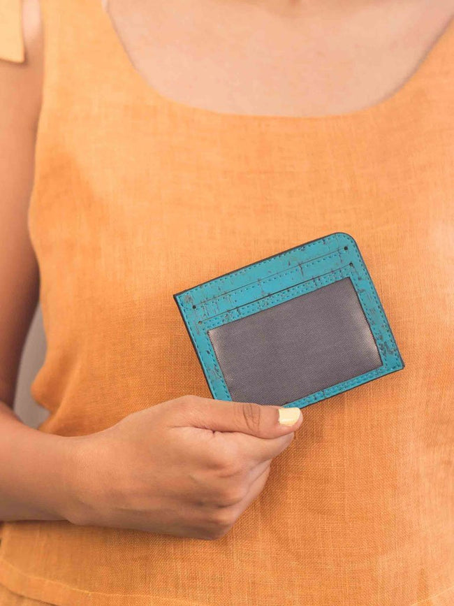 Rio Teal Card Case