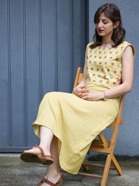 Anar Yellow Maxi Dress
