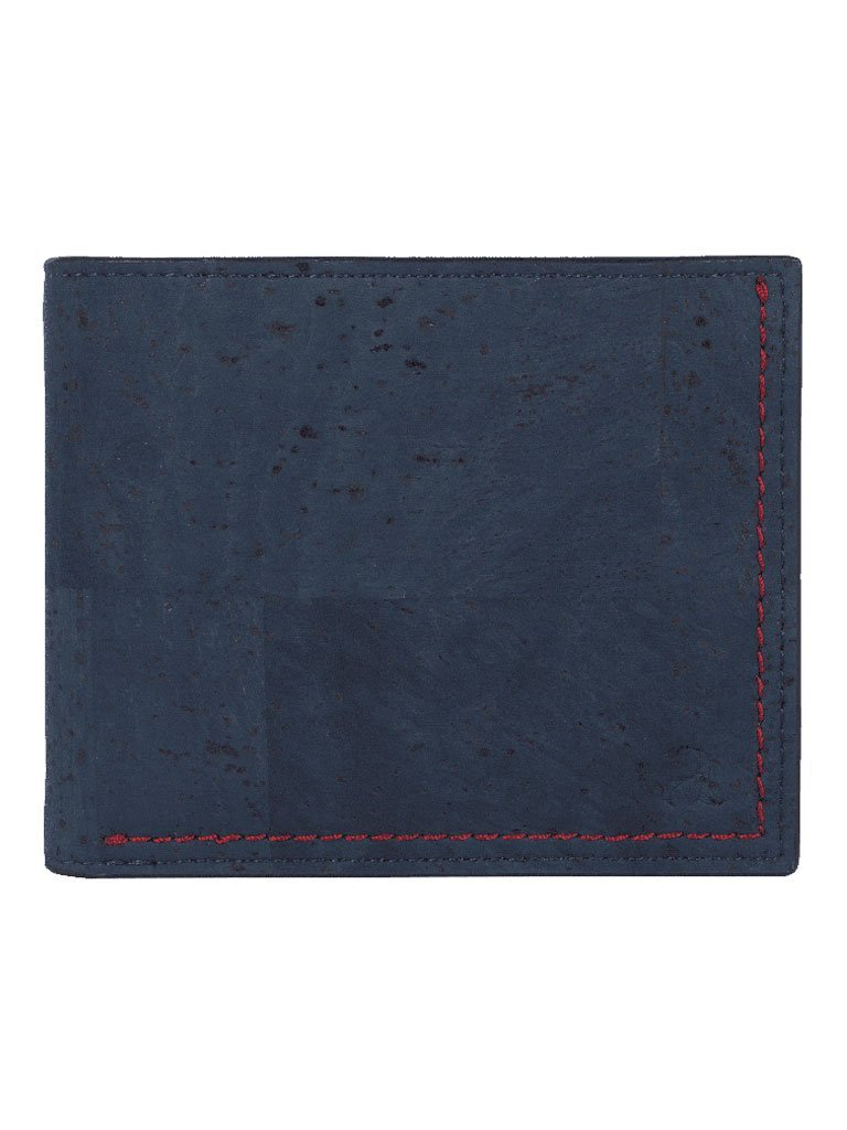 Gale Slimfold Blue Wallet - BAGS - IKKIVI - Shop Sustainable & Ethical Fashion