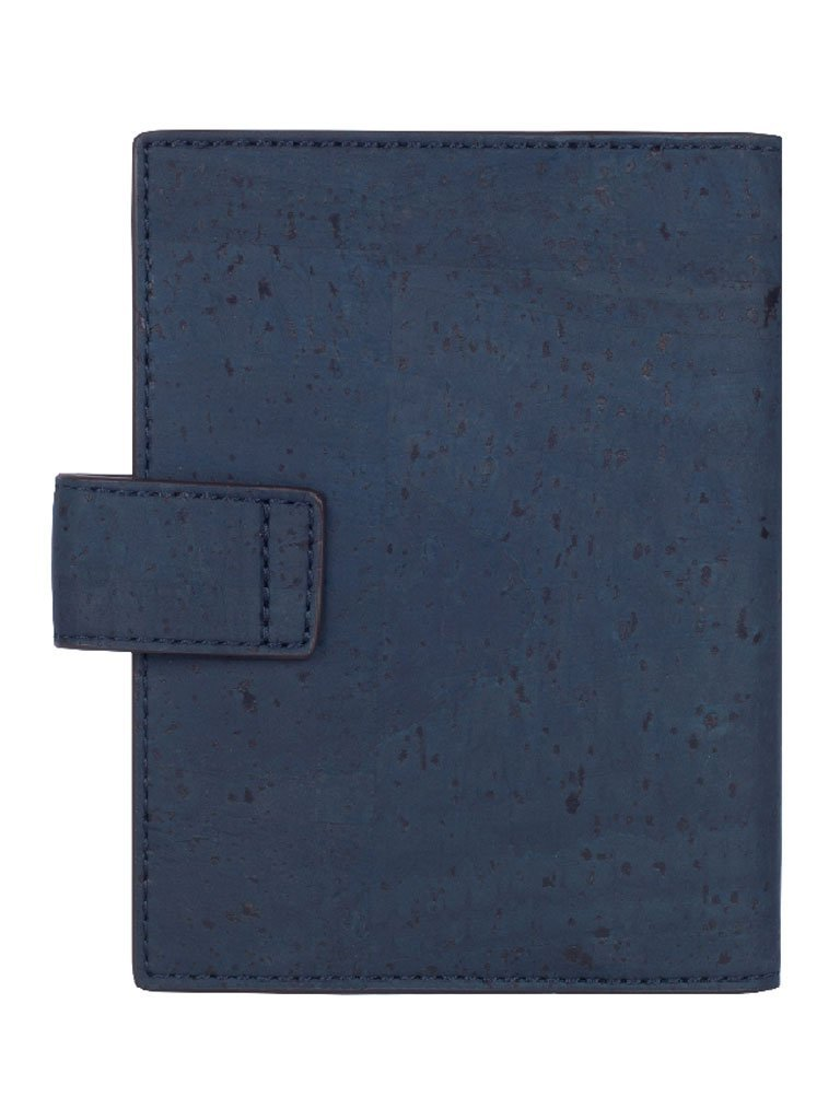 Cedar Passport Blue Wallet - BAGS - IKKIVI - Shop Sustainable & Ethical Fashion