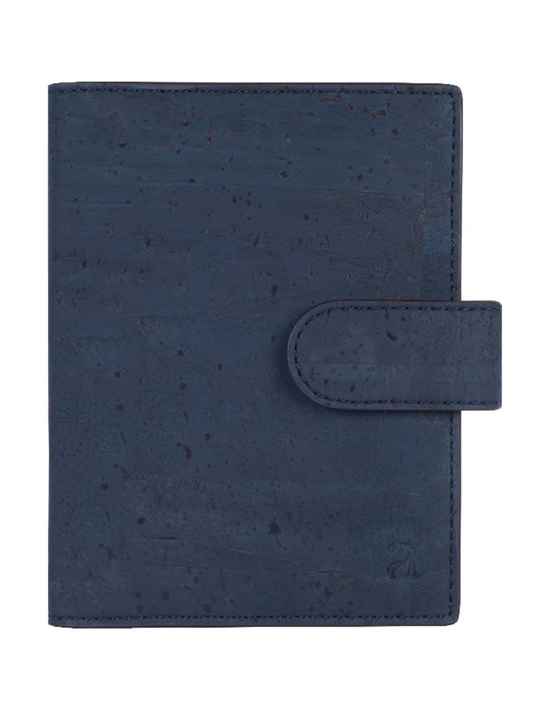Cedar Passport Blue Wallet frontside