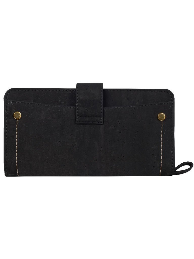 Kim Clutch Black Maroon Wallet back