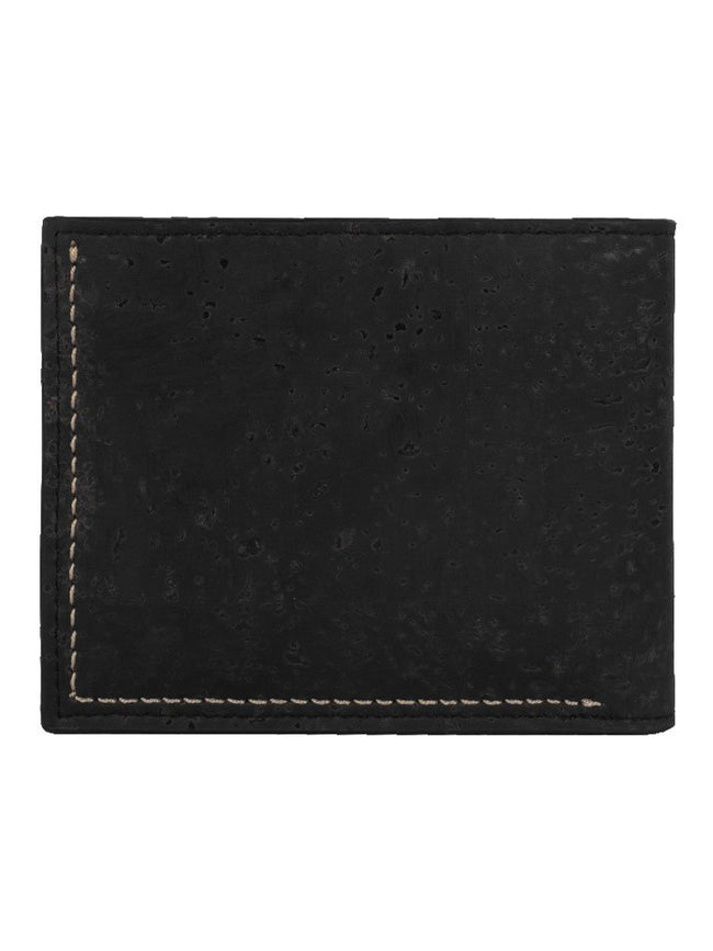 Gale Slimfold Black Wallet - BAGS - IKKIVI - Shop Sustainable & Ethical Fashion