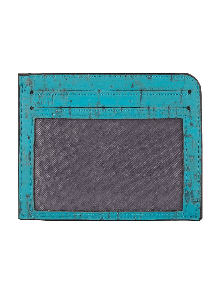 Rio Teal Card Case - BAGS - IKKIVI - Shop Sustainable & Ethical Fashion