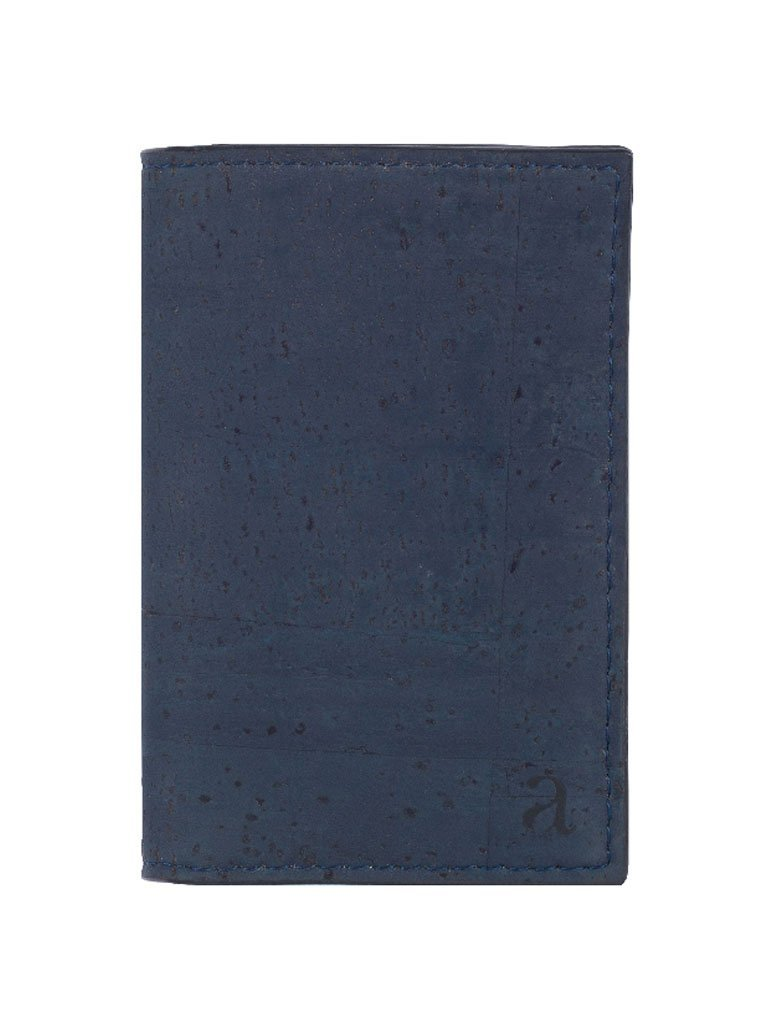 Reed Blue Business Card Holder front