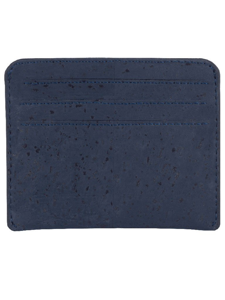 Reilly Blue Card Case - BAGS - IKKIVI - Shop Sustainable & Ethical Fashion