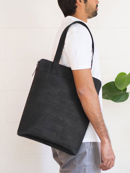 Aspen Black Tote Bag