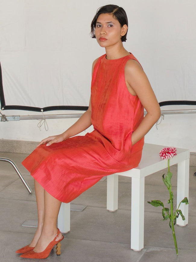 Vanessa Pin Dress - DRESSES - IKKIVI - Shop Sustainable & Ethical Fashion