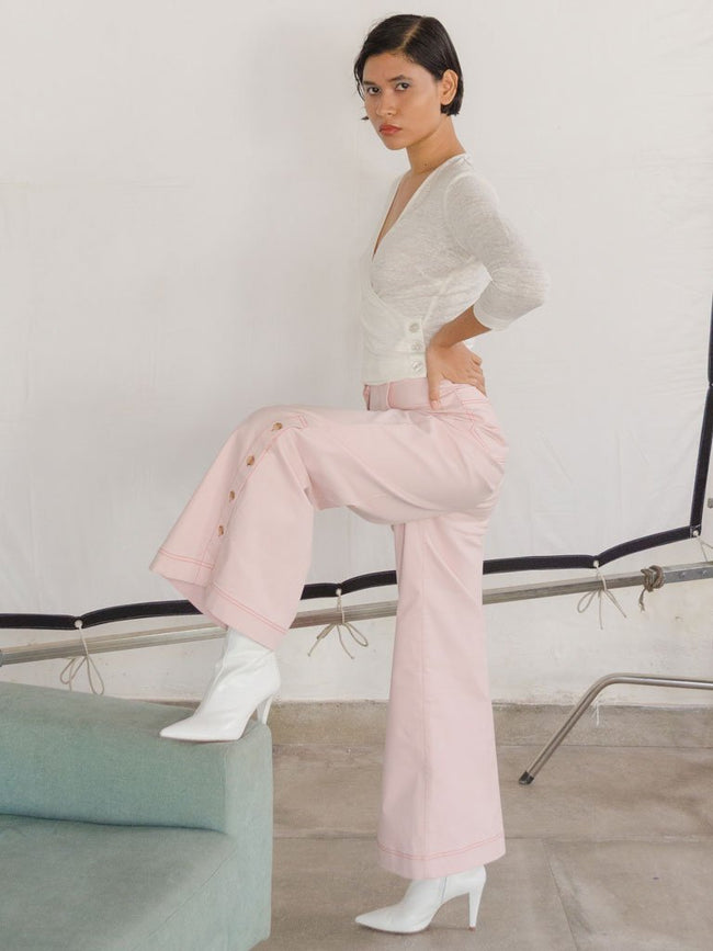 Paloma Pants - SKIRTS & TROUSERS - IKKIVI - Shop Sustainable & Ethical Fashion
