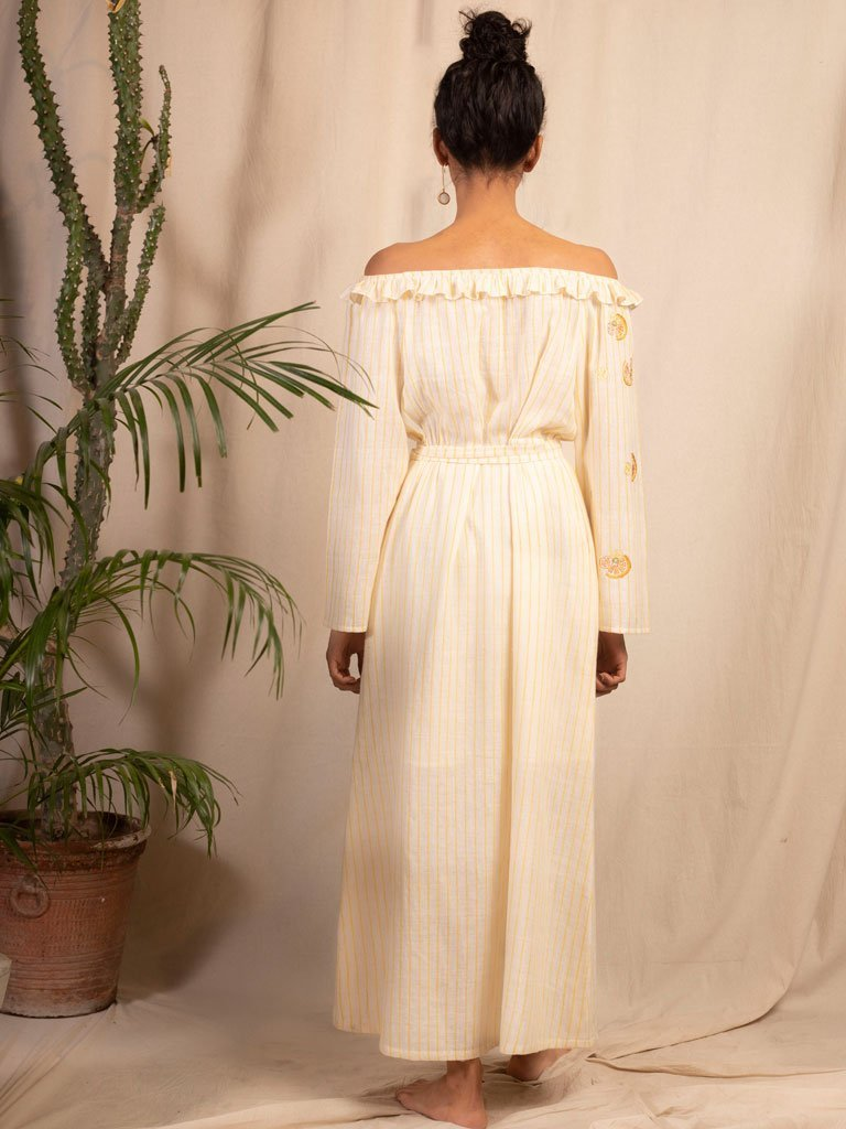 Dolce Vita Maxi Dress - DRESSES - IKKIVI - Shop Sustainable & Ethical Fashion