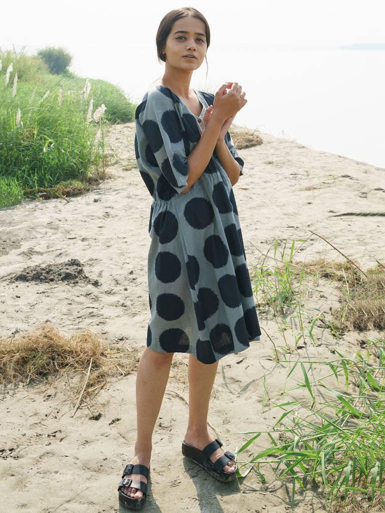 Drawstring Dress - DRESSES - IKKIVI - Shop Sustainable & Ethical Fashion