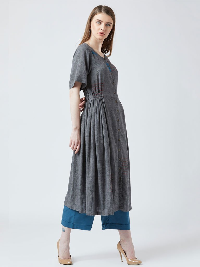 Emb Elastic Set - DRESSES - IKKIVI - Shop Sustainable & Ethical Fashion