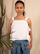 Fiori Top - TOPS - IKKIVI - Shop Sustainable & Ethical Fashion