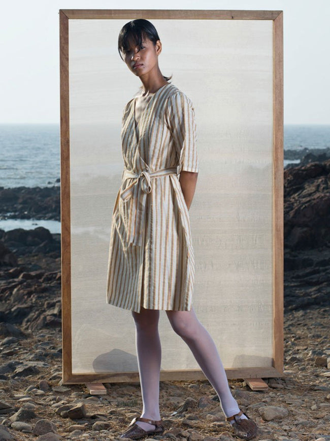 Cotton X Wool Dress - DRESSES - IKKIVI - Shop Sustainable & Ethical Fashion