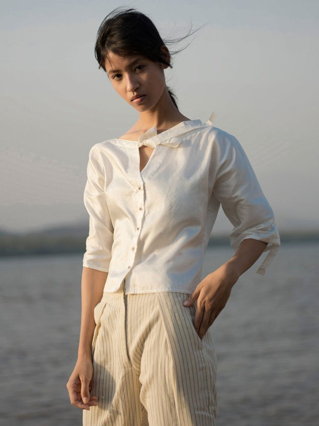 Tie Up Top - TOPS - IKKIVI - Shop Sustainable & Ethical Fashion