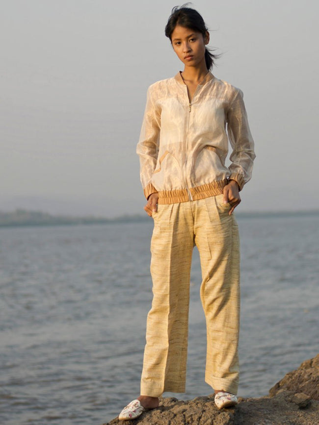 Front Crease Trousers - BOTTOMS - IKKIVI - Shop Sustainable & Ethical Fashion