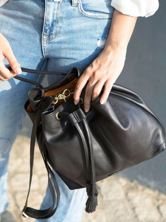 Minimo Deep Coal - BAGS - IKKIVI - Shop Sustainable & Ethical Fashion