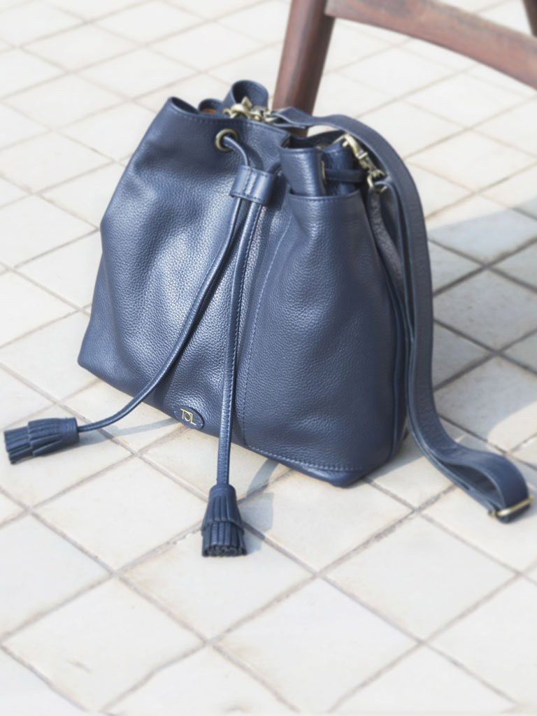 Minimo Midnight Blue - BAGS - IKKIVI - Shop Sustainable & Ethical Fashion
