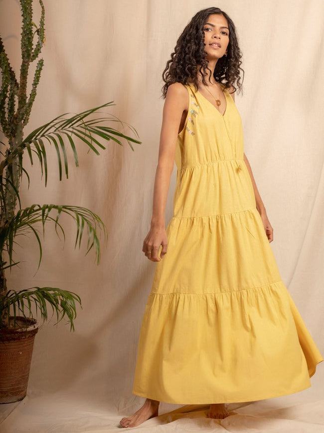 Il Sole Dress - DRESSES - IKKIVI - Shop Sustainable & Ethical Fashion